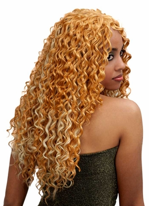 Bobbi Boss Indiremi FRENCH WAVE Virgin Human Hair Remy Weave 14 inch - Click to enlarge