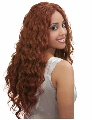 Bobbi Boss Indiremi Virgin Human Hair Remy Weave OCEAN WAVE 12 Inch - Click to enlarge