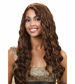 Bobbi Boss Indiremi Virgin Human Hair Remy Weave OCEAN WAVE 18 inch - Click to enlarge