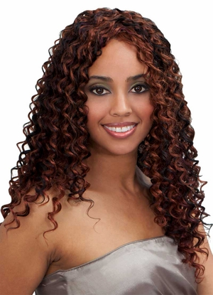 Bobbi Boss Indiremi Virgin Human Hair Remy Weave SOUL WAVE 18 inch - Click to enlarge