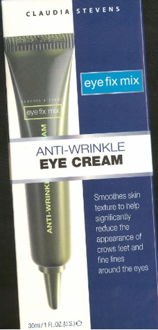 Claudia Stevens Eye Fix Mix Anti-Wrinkle Eye Cream 1 oz