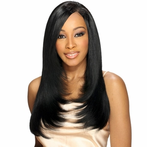 MilkyWay Cos Human Hair Natural Yaky Weave 14 Inch (Buy 1 Get 1 Free) - Click to enlarge