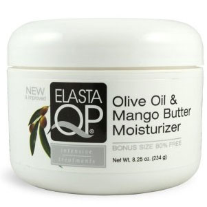 Elasta QP Intensive Treatment Olive oil Mango Butter Moisturizer 8.25 oz jar