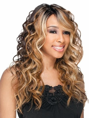 Freetress Equal Lace Front Deep Invisible Part Wig BENTLY - Click to enlarge