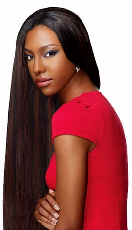 Sensationnel Goddess Select 100% Remi Human Hair Yaki Weave 10s inch (Buy 1 Get 1 Free)