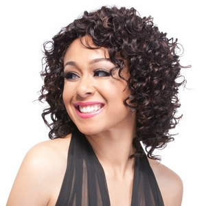 It's a Cap Weave 100% Human Hair Wig DEEP WAVE - Click to enlarge