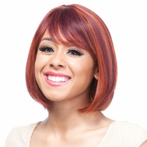 It's a Cap Weave 100% Human Hair Wig NIA - Click to enlarge