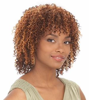 It's a Cap Weave 100% Human Hair Wig WATER WAVE - Click to enlarge