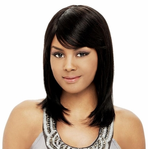 It's a Wig Human Hair Indian Remi Wig Natural 1012 - Click to enlarge