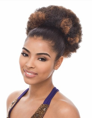 Janet Collection Ponytail Afro Puff - Click to enlarge