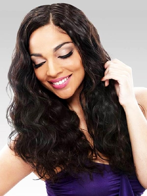 Janet Collection Brazilian Bundle Hair 100% Natural Virgin Remy HH NATURAL BODY WVG 14-16 Inch - Click to enlarge