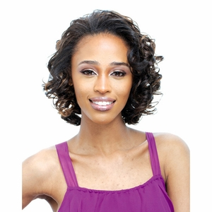 Janet Collection Easy Wear Half Wig AMOS - Click to enlarge