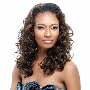 Janet Collection Easy Wear Half Wig PAMELA (Futura) - Click to enlarge