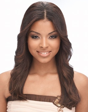 Janet Collection Encore Human Hair Weave NEW YAKY 14 Inch - Click to enlarge