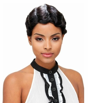 Janet Collection Human Hair Wig MOMMY  - Click to enlarge