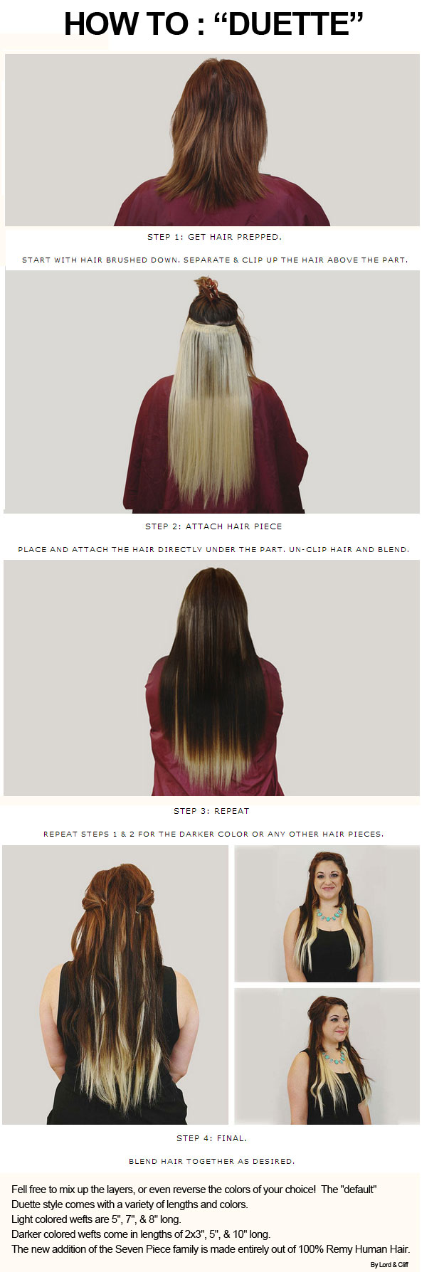Lord And Cliff Human Hair Extensions Prices Of Remy Hair