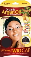 Magic Organic Argan Oil Treated Product STOCKING WIG CAP (3000BLA)