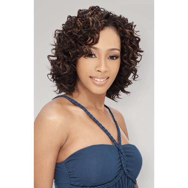 milkyway que mastermix shortcut series human hair weave
