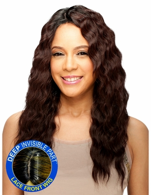 Model Model Deep Invisible Part Lace Front Wig BELLE - Click to enlarge