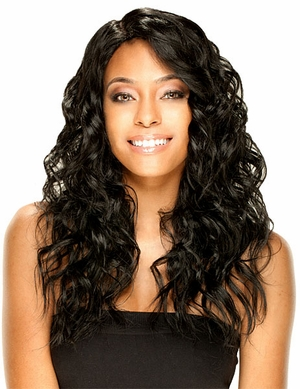 Model Model Deep Invisible Part Wig MOCHA - Click to enlarge