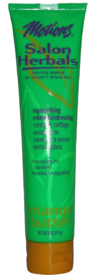 Motions Salon Herbals Replenishing Creme Hairdressing Mango Butter 6 oz
