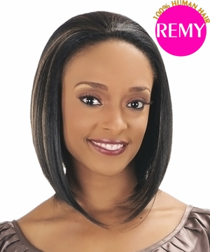 New Born Free Human Hair Remi Wig TEAL