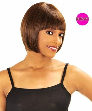New Born Free Human Hair Wig 0999H Opal - Click to enlarge