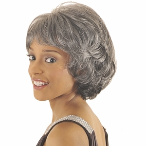 New Born Free Romance Gray Hair Wig 3305 Beth - Click to enlarge