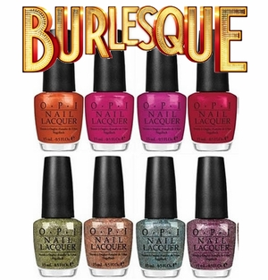 Opi Holiday 2010 Collection Brulesque- 8 colors