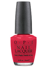 OPI Nail Polish Big Apple Red N25