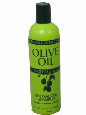 Organic Root Salon OLIVE OIL Neutralizing Shampoo 24 oz