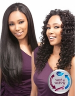 "Outre Duvessa Indian Remi WAVY INDIAN Wet & Wavy 14"" 16"" 18"" + Parting Piece"