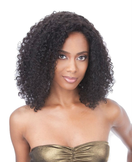 Saga 100 Human Hair Remy Lace Front Indian Jerry Curl