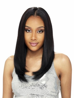 Saga Remy Human Hair Invisible Part Closure 10 Inch - Click to enlarge