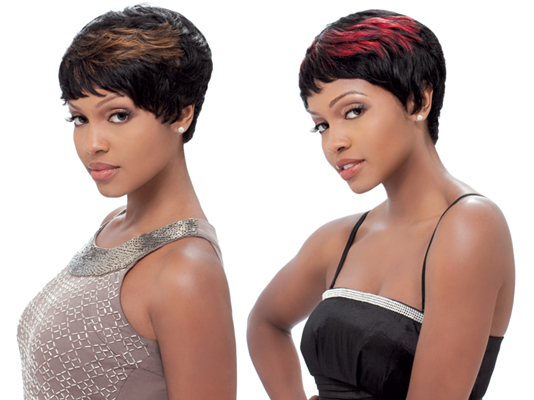 Sensationnel Bump Collection Human Hair Wig EASY 27