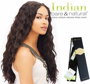 Sensationnel Indian BARE & NATURAL 100% Virgin Remi LOOSE BODY Weave 12 Inch