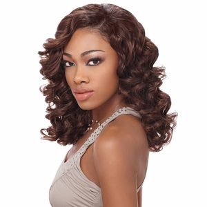 Sensationnel Mixx Multi Four Human Hair Weave ROMANTIC CURL - Click to enlarge