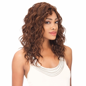 Sensationnel Start 2 Finish Human Hair Deep Spiral Weaving 12 - 18 Inch