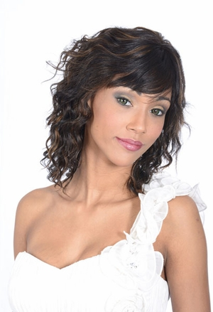 Silhouette Human Hair Wig Jada - Click to enlarge
