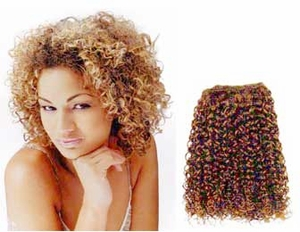Unique Wiiv Human Hair Weave FRENCH CURLY 12 Inch