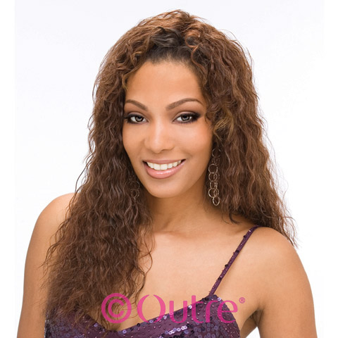 Outre Velvet Remy Human Hair Weave FRENCH WAVE 12 14 Inch