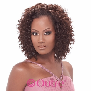 Outre Velvet Remy Spanish Wave Human Hair Weave 10s 14 Inch