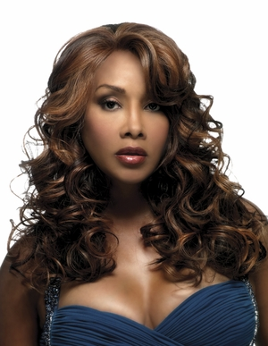 Vivica A Fox Lace Front Wig LAVENDER - Click to enlarge