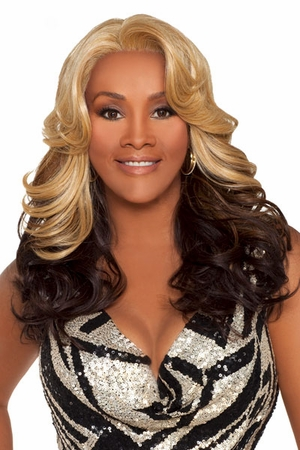 Vivica A Fox Lace Front Wig NAPOLI - Click to enlarge