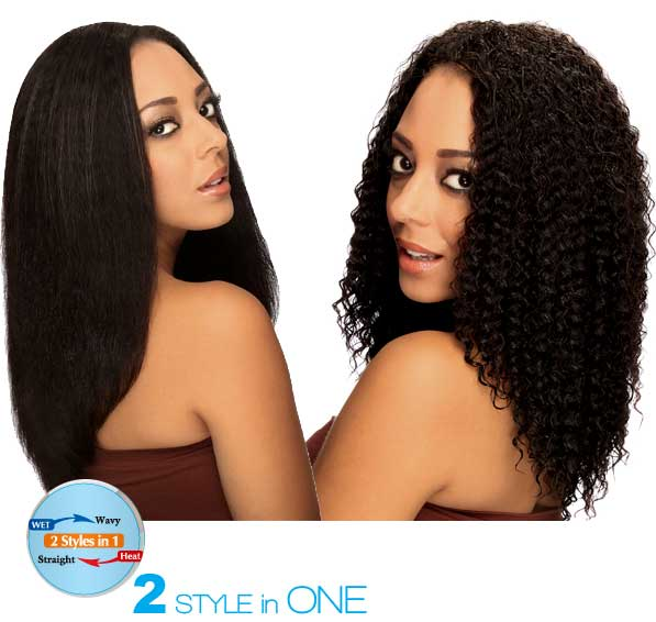 Zury Indian Remy Hair Wet & Wavy French Braiding 7