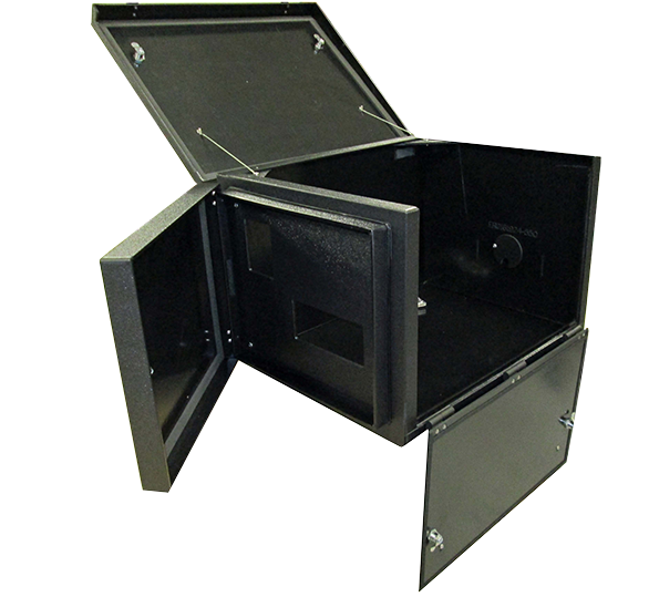 Acoustical Printer Cabinet For Avery Monarch 9855