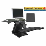 Health Postures TaskMate #6100 | Electric Adjustable Monitor Stand