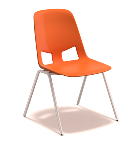 American Seating Us Plastic Stack Chair FXD021