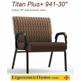 Comfortek Titan Assisted Living Bariatric Arm Chair #941-30