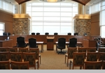 Courtroom Furniture: Judges Benches | Jury Boxes | Attorney Table Desks | Courtroom Rails or Dividers | Courtroom Lecterns